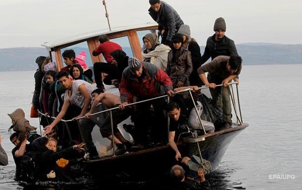 Потік біженців до ЄС через Середземне море зменшився