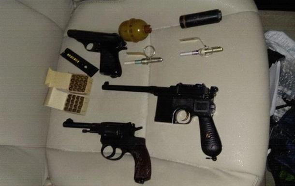 В Киеве задержан торговец оружием – СБУ