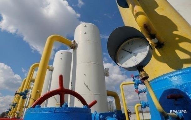 Украина уменьшила запасы газа в хранилищах