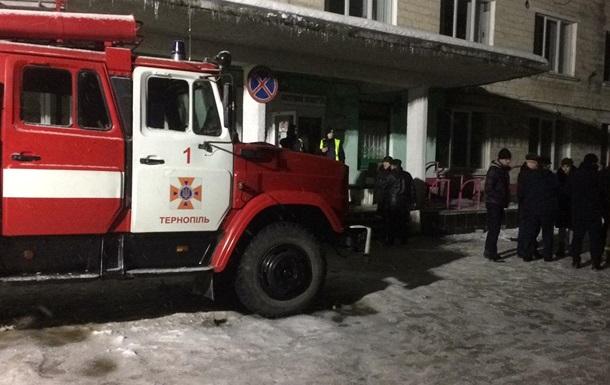 У Тернополі горіла дитяча клінічна лікарня