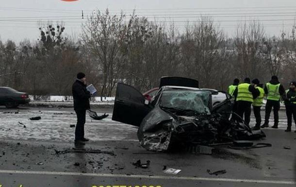 В Киеве в ДТП погиб полицейский