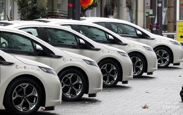 В Украину за январь ввезли почти 800 электромобилей