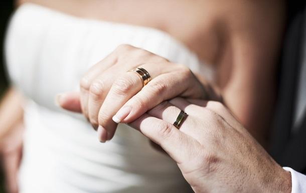 В День святого Валентина почти 2400 пар вступили в брак
