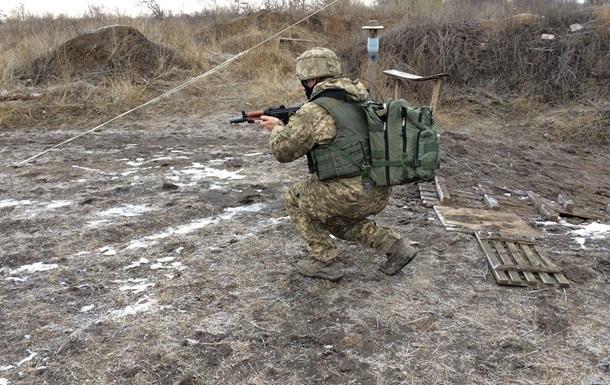 Сутки в АТО: десять обстрелов, один погибший