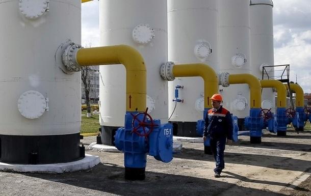 В Украине снизились запасы газа