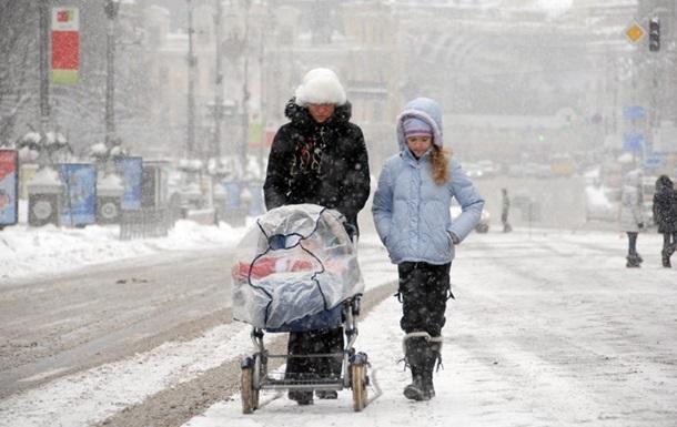 Погода в Украине на выходные: снег и потепление