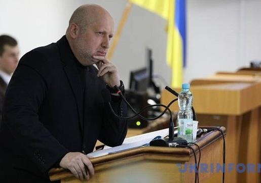 Допрос Турчинова: единственная жертва Крыма