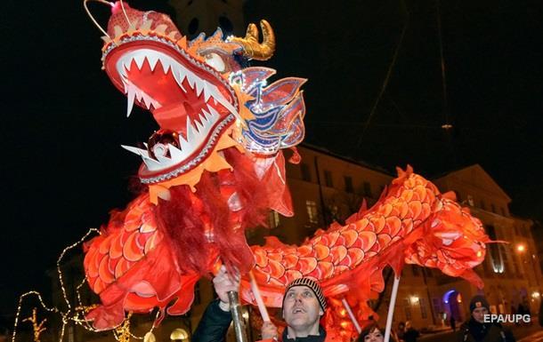 Праздник весны: Львов отмечает китайский Новый год