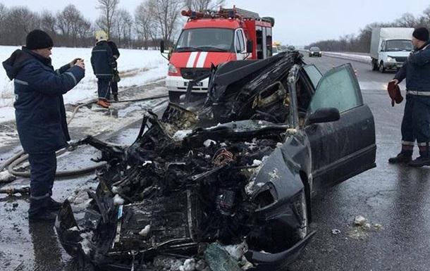 На Харківщині в ДТП загинули чотири людини