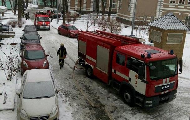 У Києві горіла лікарня