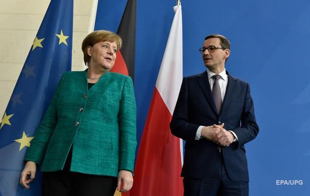 Меркель не видит угрозы в Северном потоке-2