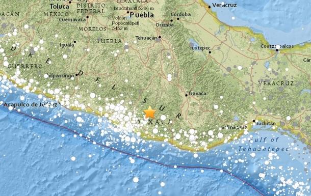 В Мексике зафиксировали мощное землетрясение