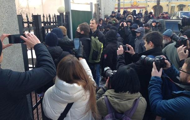 У Києві радикали із С14 напали на російський центр