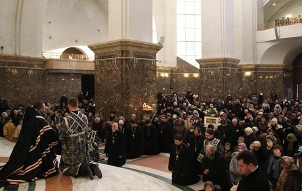 Православные христиане отмечают Прощеное воскресенье
