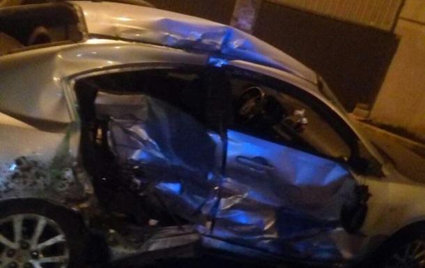 В Одесі п яний водій розбив шість машин