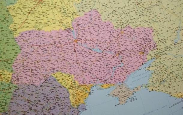 ВУгорщині вилучили зпродажу карти України знеукраїнським півднем таКримом