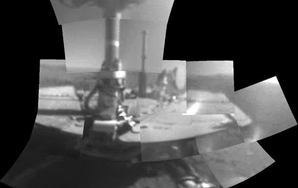 Марсохід Opportunity зробив перше  селфі