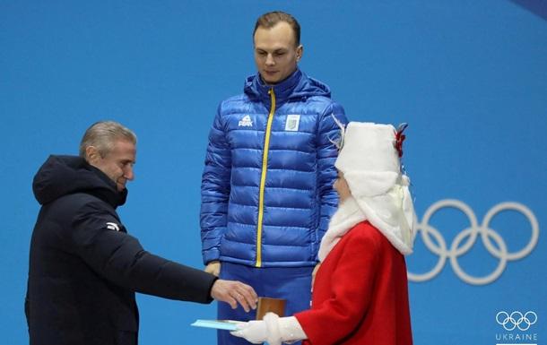 Українцю Абраменку вручили золоту медаль Олімпіади