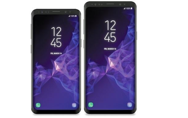 Samsung Galaxy S9: з явилися офіційні рендери