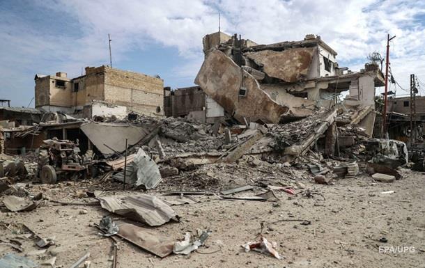 Близько 100 осіб загинуло врезультаті авіанальоту під Дамаском