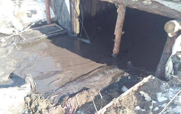 Укрепления ВСУ попали в зону загрязнения на Донбассе