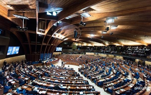Совет Европы утвердил план действий для Украины