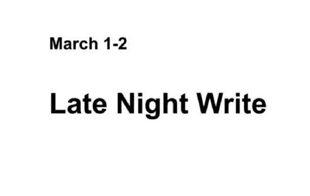 Late Night Write: встреча со звездами креативной индустрии