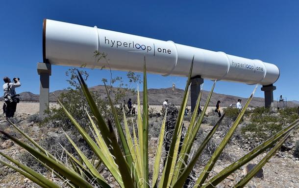 В Днепре построят тестовую площадку Hyperloop