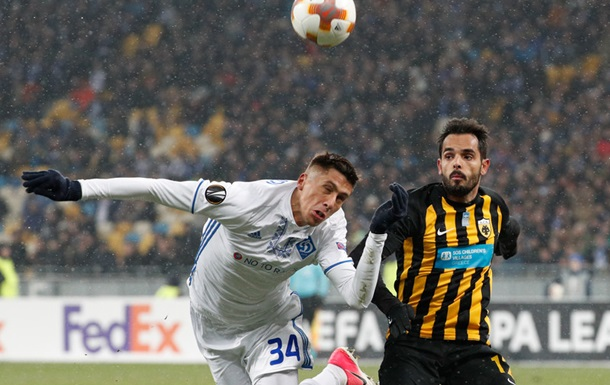 Динамо Київ - АЕК 0:0. Онлайн матчу Ліги Європи