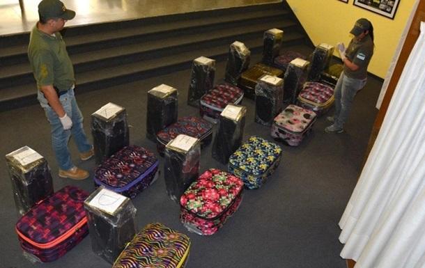 Российские дипломаты пытались вывезти из Аргентины 400 кг кокаина