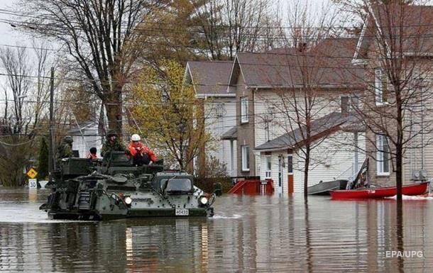 В Канаде эвакуируют тысячи людей из-за паводка