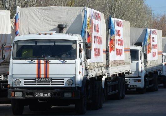 Погибших «Вагнеровцев» в Сирии вывозят на грузовиках из 74 гумконвоя