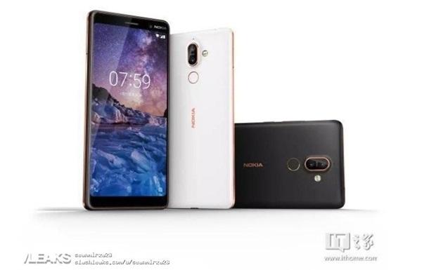 Nokia 7 Plus: в Сети появились официальные рендеры