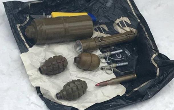 Во Львове обнаружили тайник с гранатами