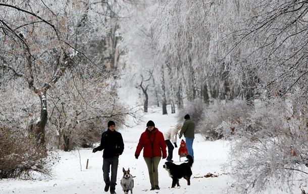 В Украину пришло сильное похолодание