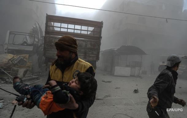 Бомбардировки Гуты: 505 погибших, из них более 100 - дети