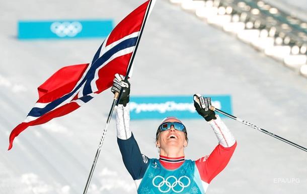 Норвегия выиграла медальный зачет зимней Олимпиады