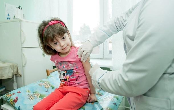 В Украине запретили партию вакцины от кори