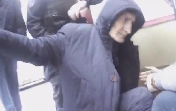 Правоохранители опубликовали видео задержания русского  уголовного  авторитета вВышгороде