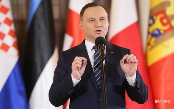 Дуда: Поляки хочуть хороших відносин з українцями