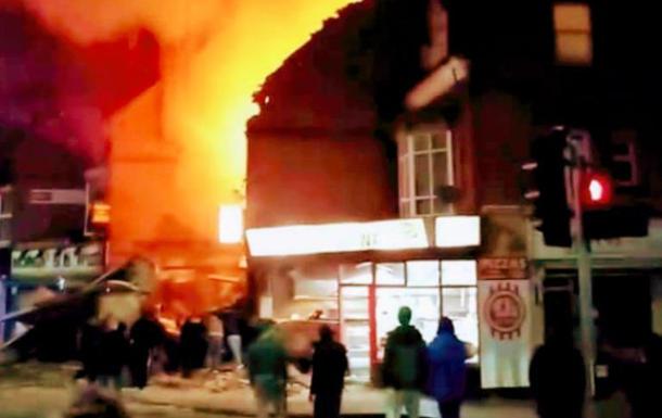 У британському Лестері пролунав потужний вибух