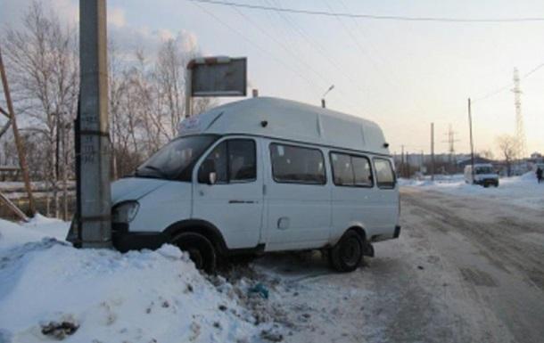 В России пьяный угнал маршрутку, чтобы доехать домой