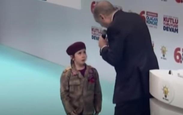 Ердоган пообіцяв дитині похорон з почестями