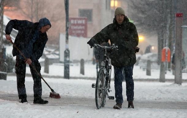 В Европе из-за аномальных морозов погибли десять человек
