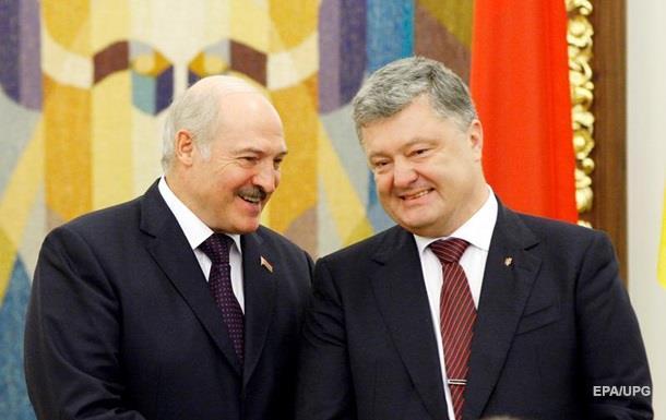 Порошенко і Лукашенко обговорили підготовку Першого форуму регіонів