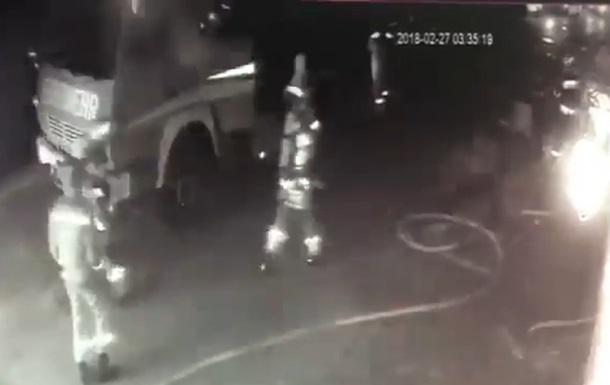 Взрыв в Ужгороде: появилось видео
