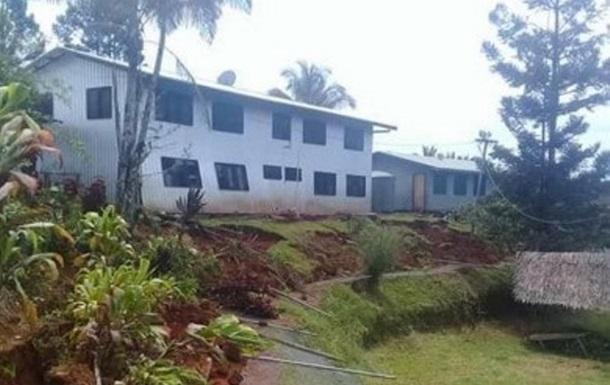 В Папуа – Новой Гвинее произошло новое землетрясение