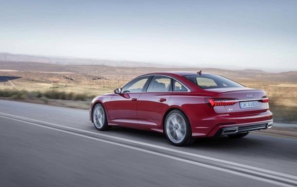 Audi показала седан A6 нового поколения