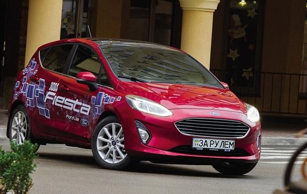Тест-драйв хэтчбека Ford Fiesta нового поколения