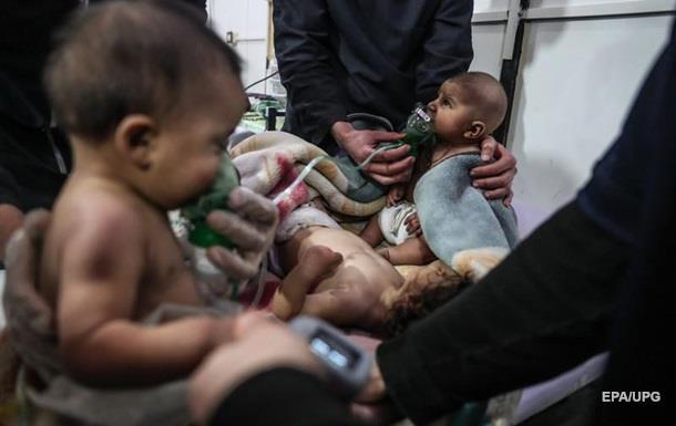 Росія відреагувала на звинувачення у хіматаках у Східній Гуті